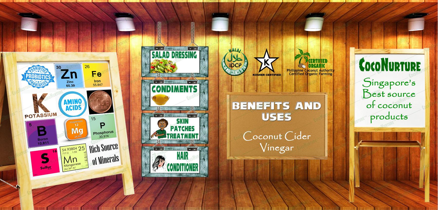 Organic Coconut Cider Vinegar